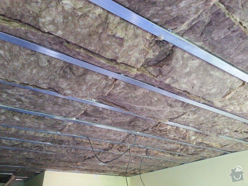 Odhlučnění stropu v obývacím pokoji: 20140505_133709