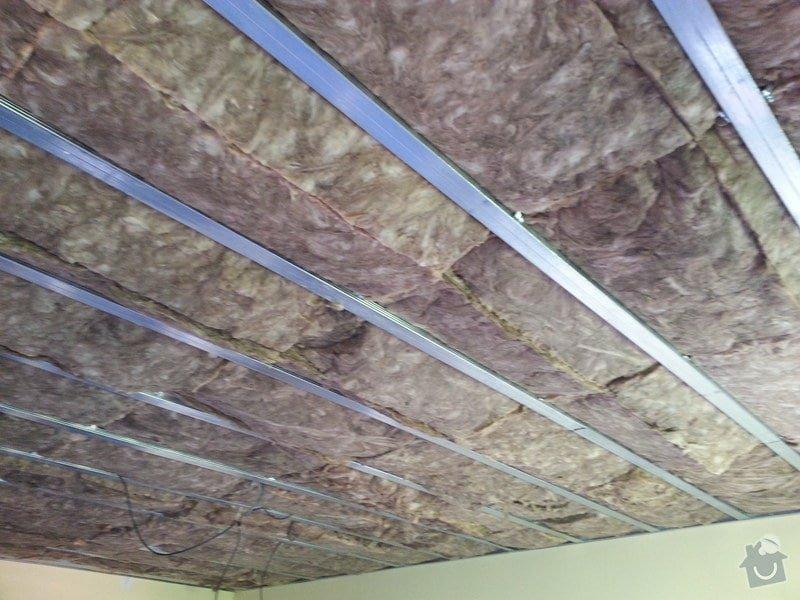 Odhlučnění stropu v obývacím pokoji: 20140505_133714