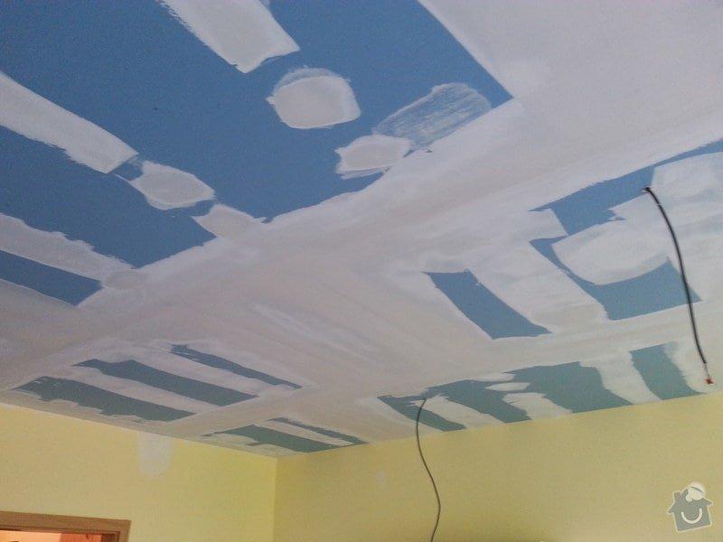 Odhlučnění stropu v obývacím pokoji: 20140505_170749