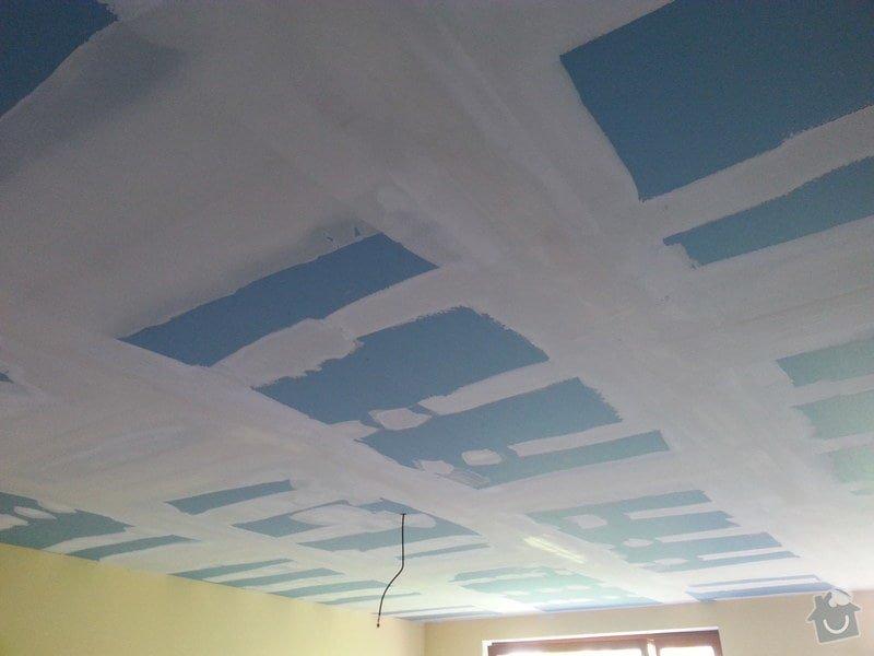 Odhlučnění stropu v obývacím pokoji: 20140505_170802