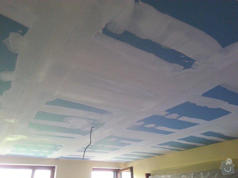 Odhlučnění stropu v obývacím pokoji: 20140505_170812