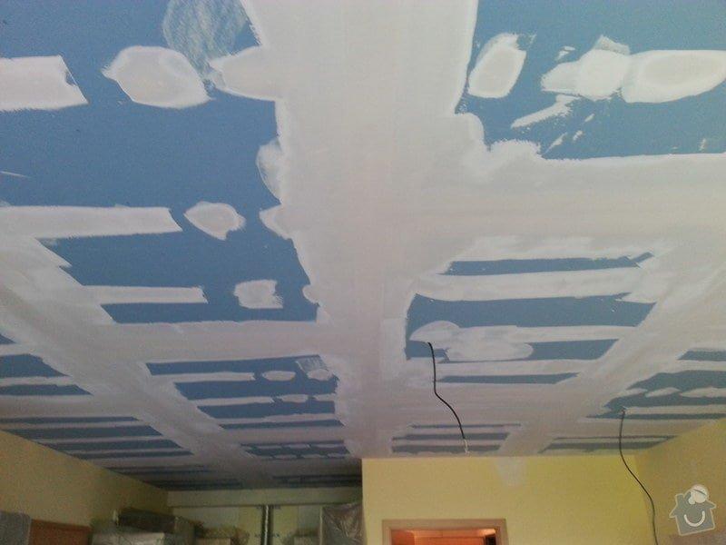 Odhlučnění stropu v obývacím pokoji: 20140505_170838