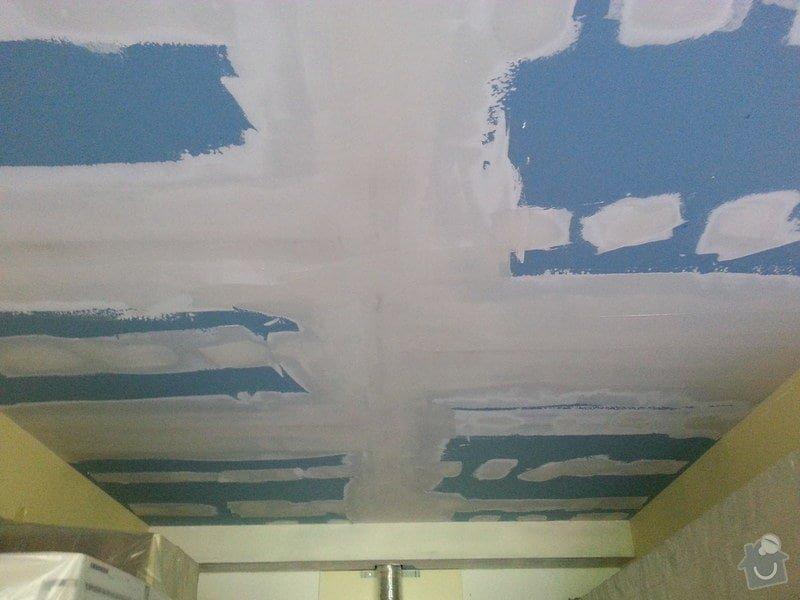 Odhlučnění stropu v obývacím pokoji: 20140505_170848