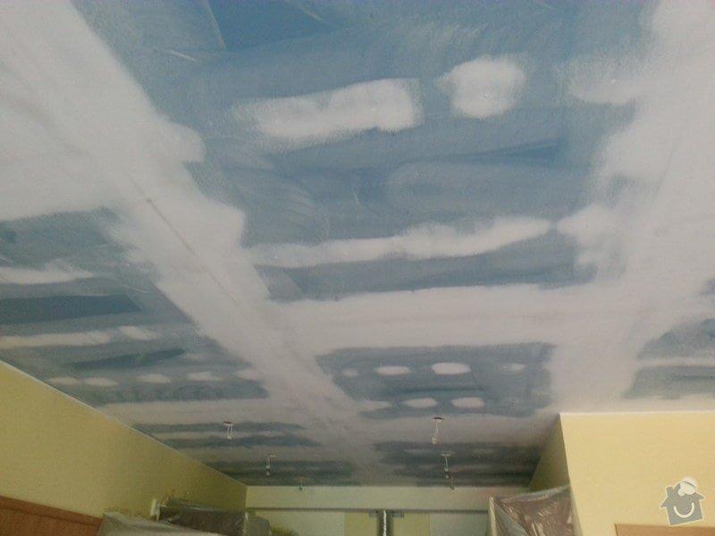Odhlučnění stropu v obývacím pokoji: 20140506_105555