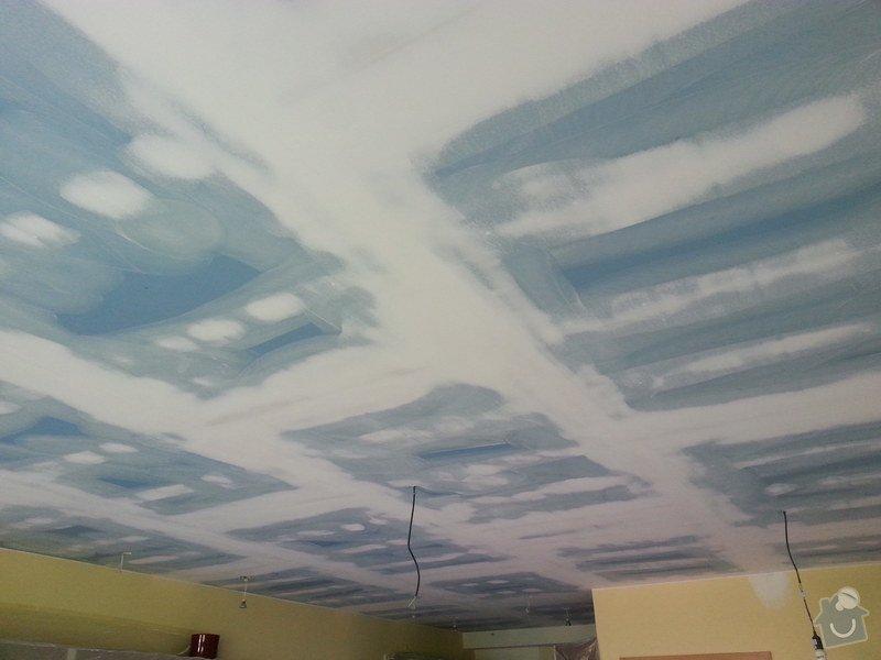 Odhlučnění stropu v obývacím pokoji: 20140506_105605