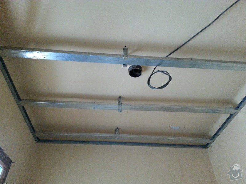 Zateplené podhledy v bytě 2+1: 20140609_165841