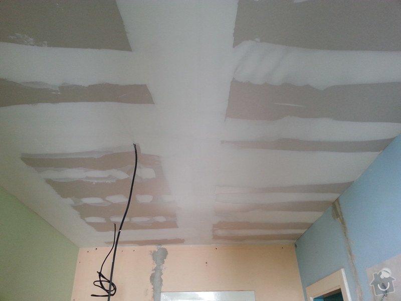 Zateplené podhledy v bytě 2+1: 20140611_091533