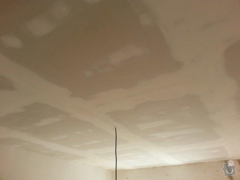 Zateplené podhledy v bytě 2+1: 20140611_105223