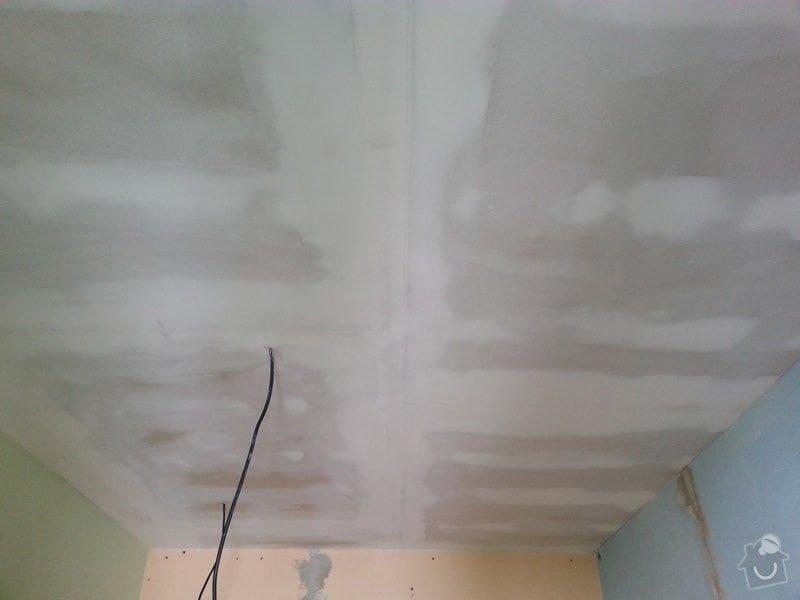 Zateplené podhledy v bytě 2+1: 20140611_105303