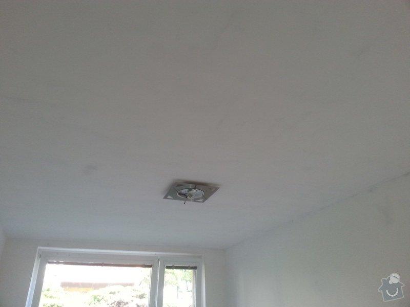 Stěrka stropu, drobné úpravy: 20140606_114747