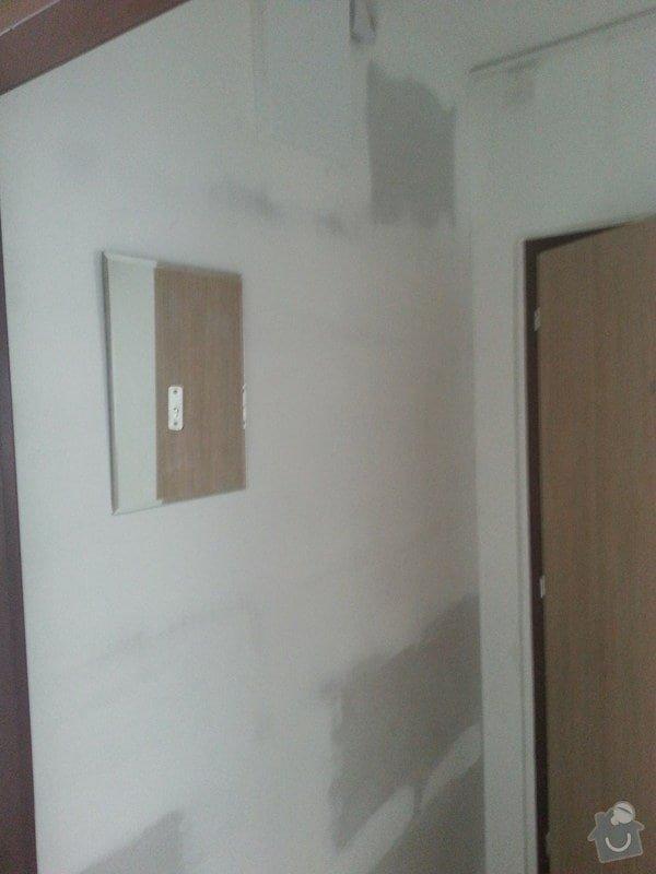 Stěrka stropu, drobné úpravy: 20140606_114752