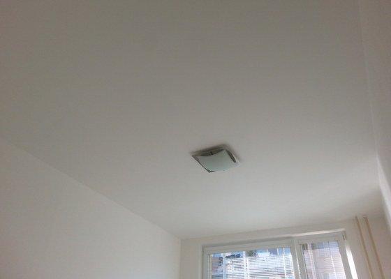 Stěrka stropu, drobné úpravy
