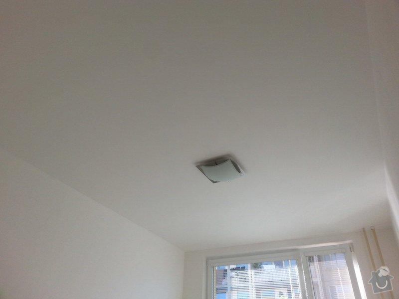 Stěrka stropu, drobné úpravy: 20140612_182433