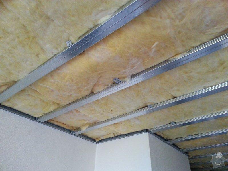 Odhlučnění stropu v bytě: 20140604_124935