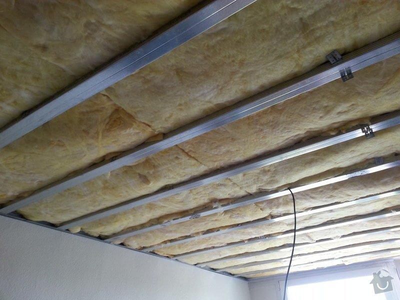 Odhlučnění stropu v bytě: 20140604_124941