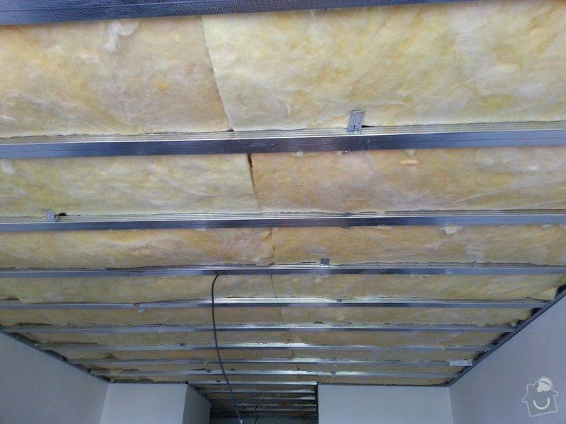 Odhlučnění stropu v bytě: 20140604_124950