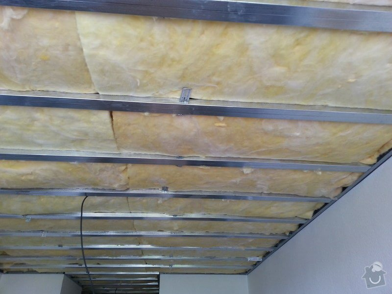 Odhlučnění stropu v bytě: 20140604_124953
