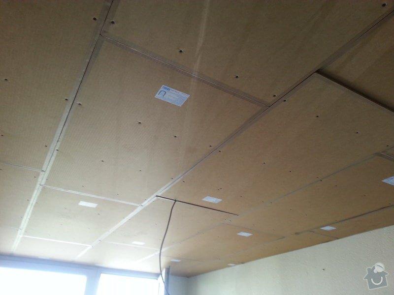 Odhlučnění stropu v bytě: 20140604_141755