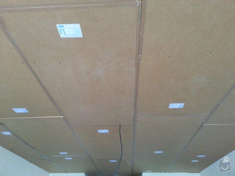 Odhlučnění stropu v bytě: 20140604_141810