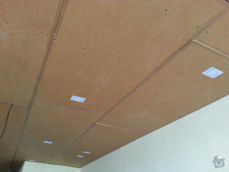 Odhlučnění stropu v bytě: 20140604_141814