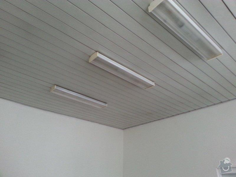 Podhledy s izolací, stěny a elektro: 20140717_092529