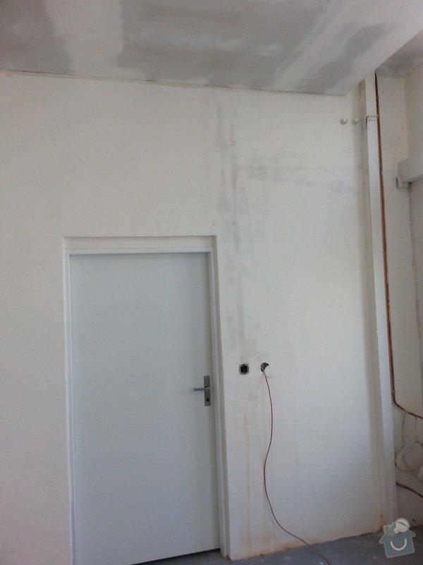 Podhledy s izolací, stěny a elektro: 20140719_105051