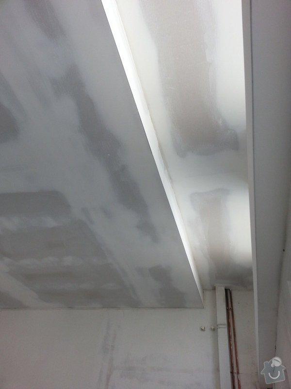 Podhledy s izolací, stěny a elektro: 20140719_105059