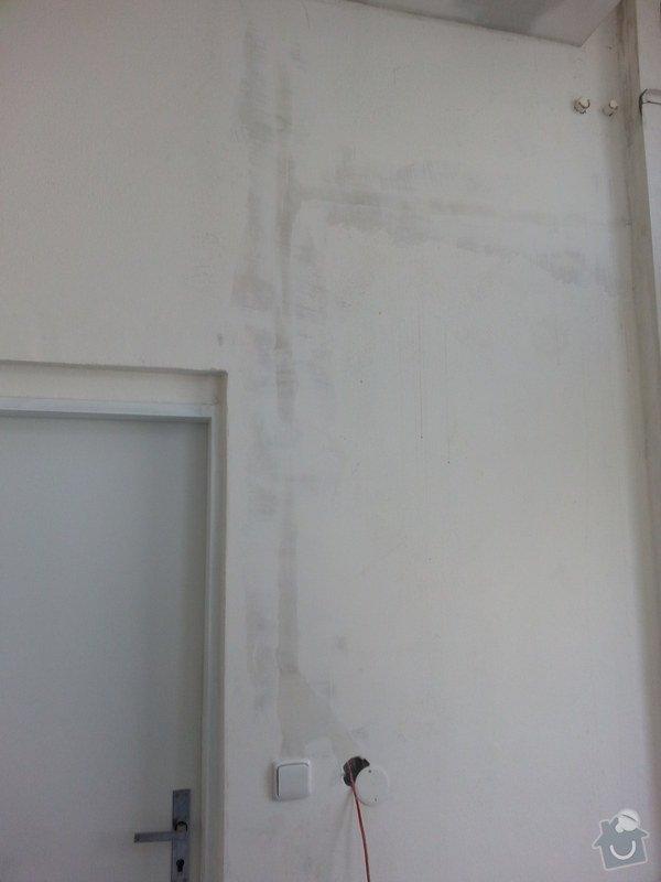 Podhledy s izolací, stěny a elektro: 20140719_105248