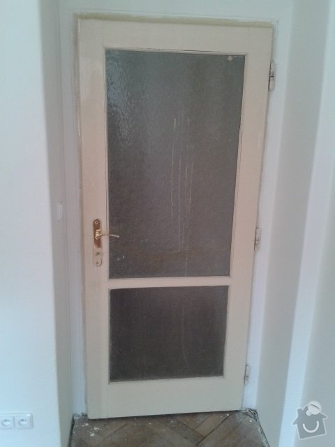 Renovace interiérových dveří: dvere
