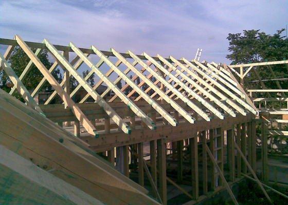 Demontáž a montáž krovů