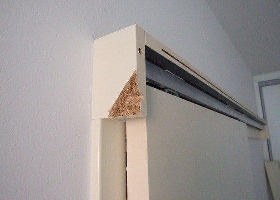 Oprava zakrytí posuvných dveří