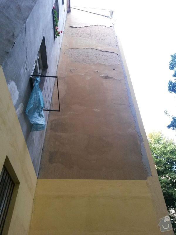 Zateplení fasády bytového domu: fasada_01