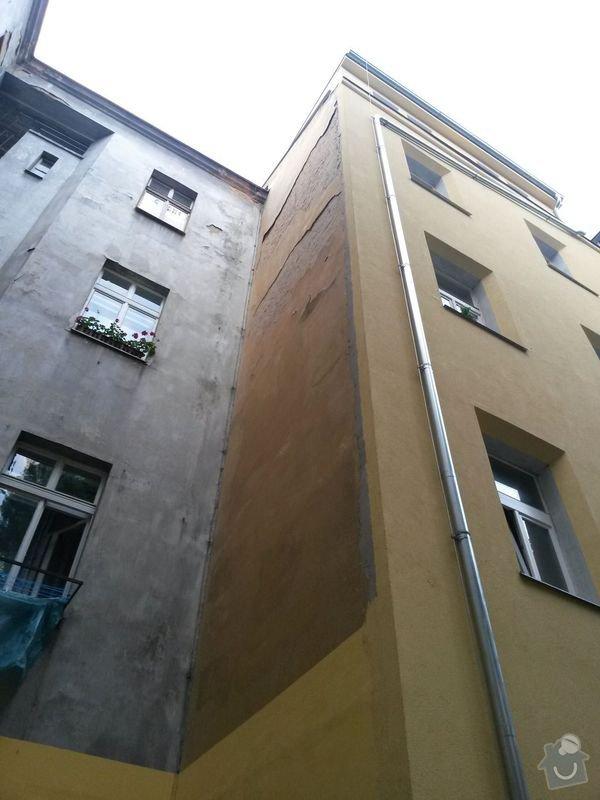 Zateplení fasády bytového domu: fasada_02