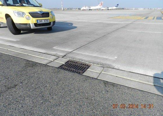 Sanace a injektáže na objektech Letiště Praha.