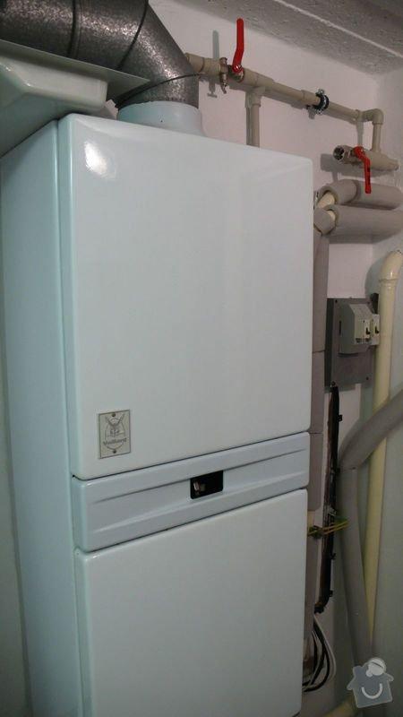 Výměnu plynového kotle: L1090242