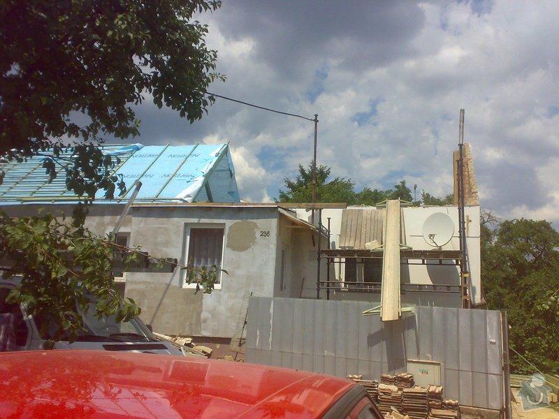 Nacenění rekonstrukce střechy včetně vestavby a věnce.: 17072014342
