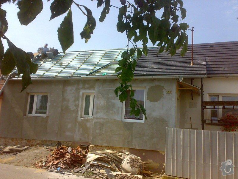 Nacenění rekonstrukce střechy včetně vestavby a věnce.: 28072014350