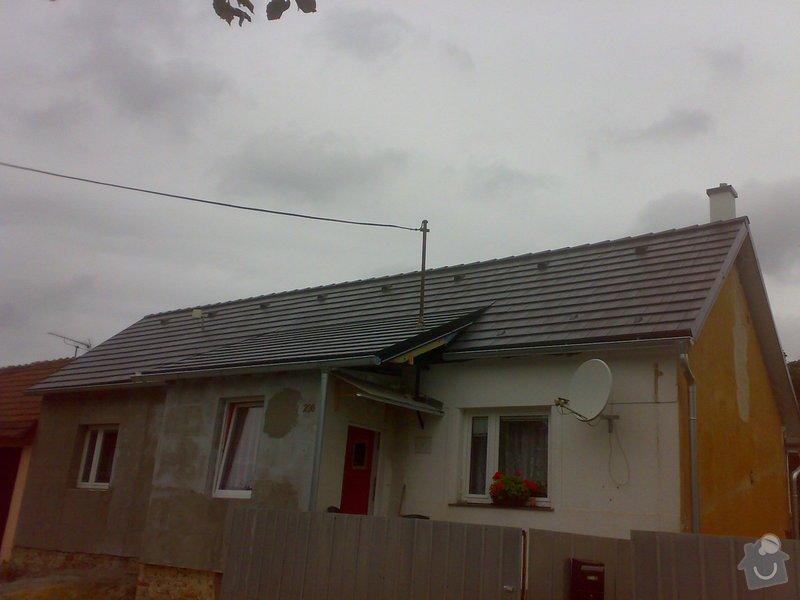 Nacenění rekonstrukce střechy včetně vestavby a věnce.: 13082014355