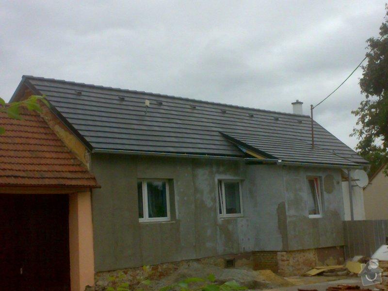Nacenění rekonstrukce střechy včetně vestavby a věnce.: 13082014351