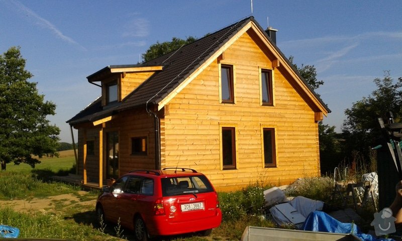 Stavba domu na klíč: 20140716_074418