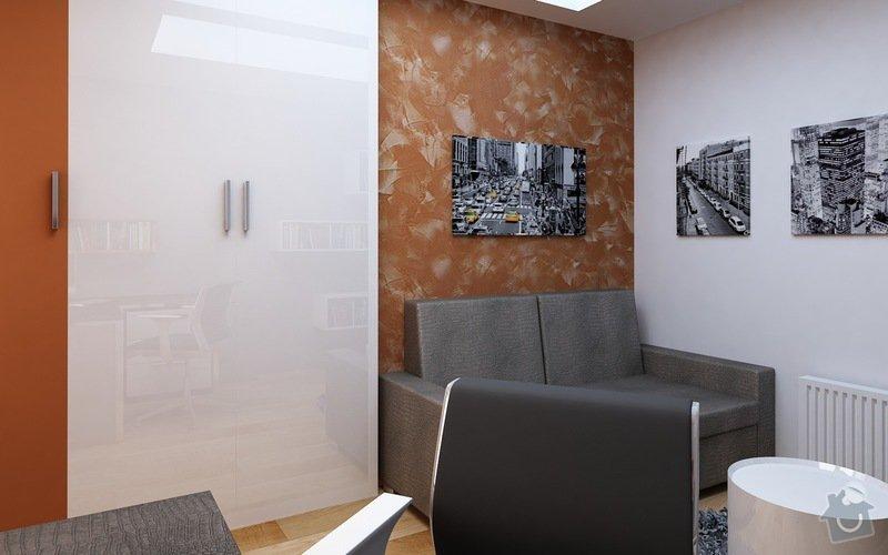 Truhlářské práce - nábytek: Pracovna_1