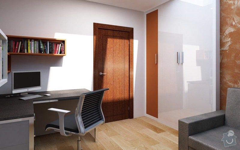 Truhlářské práce - nábytek: Pracovna_2
