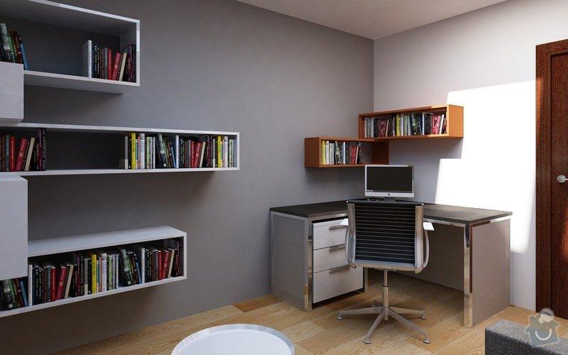 Truhlářské práce - nábytek: Pracovna_3