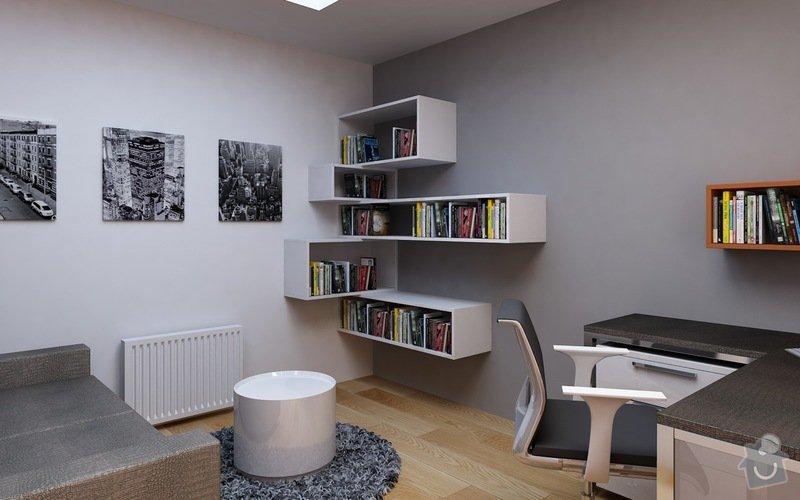 Truhlářské práce - nábytek: Pracovna_4