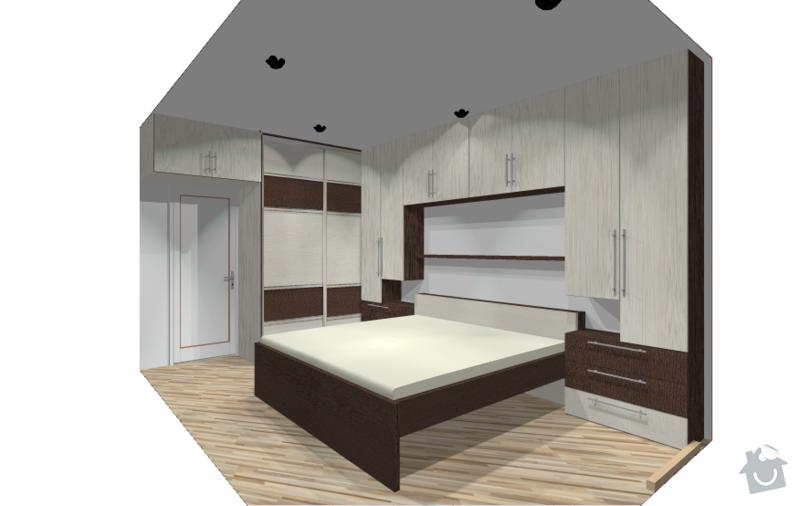 Obývací stěna + ložnice: loznice_Obrazek10