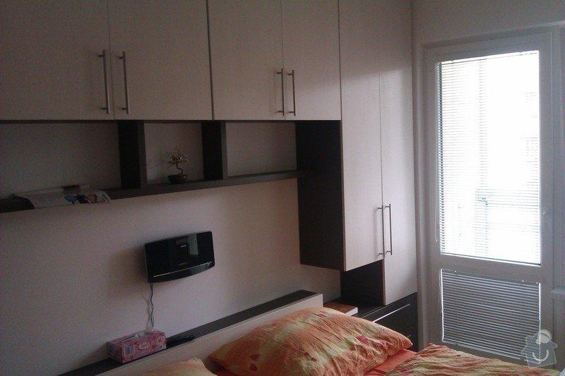 Obývací stěna + ložnice: loznice_IMAG1799