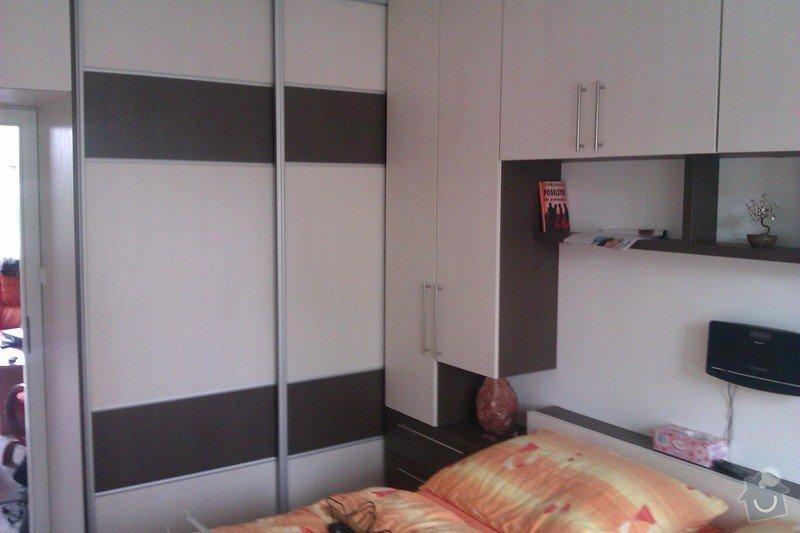 Obývací stěna + ložnice: loznice_IMAG1803