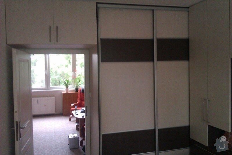 Obývací stěna + ložnice: loznice_IMAG1805