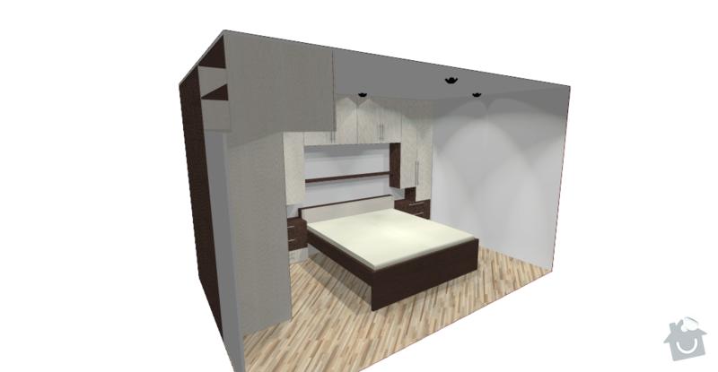 Obývací stěna + ložnice: loznice_Obrazek9