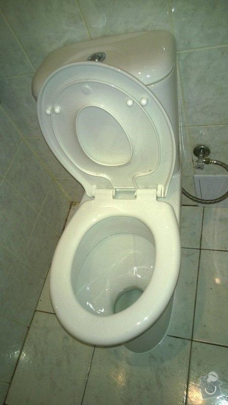 Výměna záchodu: zachod